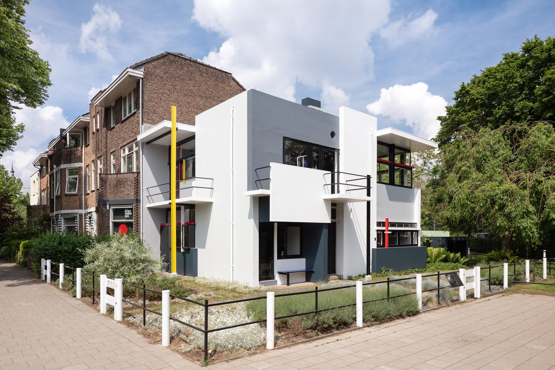 Besucher Information Rietveld Schröder Haus