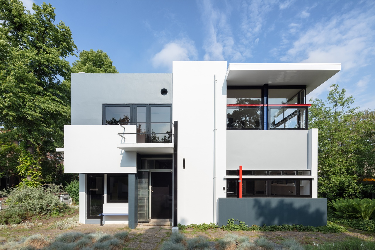 f r die presse rietveld schr der haus. Black Bedroom Furniture Sets. Home Design Ideas