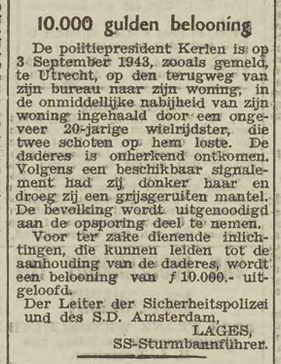 UN_1943-09-09 10000 beloning Truus van Lier.jpg